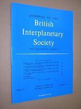 JOURNAL OF THE BRITISH INTERPLANETARY SOCIETY. SEP-DEC 1962. VOL 18 Nos.11-12