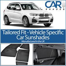 BMW X3 5dr 2010 für Autofenster-Sonnenschutzblende Babyschale Kind Booster Blind UV