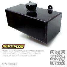 AEROFLOW FABRICATED ALLOY WASHER TANK & MOTOR [HOLDEN HQ-HJ-HX-HZ MONARO/GTS]BLK