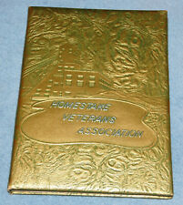 Homestake Veterans Association (Homestake Mining Company) Lead SD HB Book, 1962