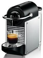 Macchina per caffè espresso De'Longhi Nespresso Pixie, Silver Electric Aluminium