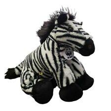 "Build A Bear WWF Zebra Plush 15"" Stuffed Animal"