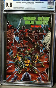 Teenage Mutant Ninja Turtles The Movie  CGC  9.8 NM/M   W/Pages  N/Case