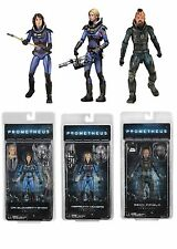 NECA PROMETHEUS SERIES 4 THE LOST WAVE ACTION FIGURES VICKERS, SHAW, FIFIELD