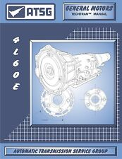 ATSG 4L60E 4L60-E chevy Transmission Rebuild Overhaul Instruction Tech Manual