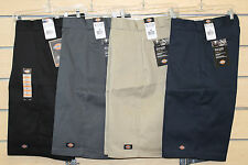 "DICKIES 41283 15"" LOOSE FIT MULTI POCKET SHORTS Sizes 30 32 34 36 38 40 42 44 46"