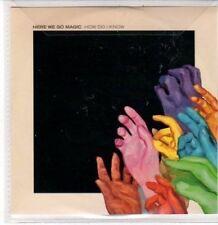 (DD817) Here We Go Magic, How Do I Know - DJ CD