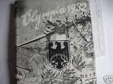 OLYMPIA 1932. album  figurine in tedesco