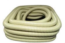 Vacuum Cleaner Hose 1 1/4  50' Wire Reinforced Beige