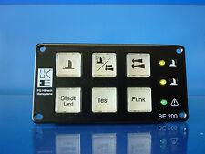 Bedieneinheit BE 200 Hänsch Movia D Verstärker Typ 520 RTK DBS 2000 BV-13008