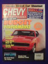 CHEVY HI PERFORMANCE - '56 PICKUP - June 1998