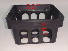 "3.2 "" x 50 pcs Basket orchic Vanda Flower Pot Bonsai Plastic Mesh Garden Outdoor"