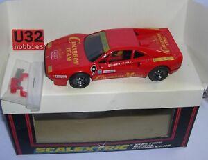 FN scalextric C391 Ferrari Gto #9 Cimarron ( Exin Export Tampography)