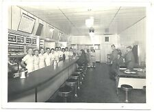 Photograph of a Cafe or Diner Interior from Harkert House Nov 1945 Oklahoma?
