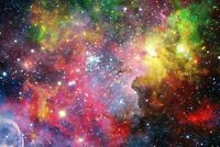 A1 | Colourful Nebula Poster Art Print 60 x 90cm 180gsm Galaxy Space Gift #8764