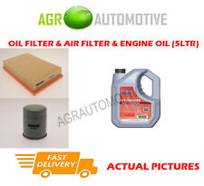PETROL OIL AIR FILTER KIT + FS 5W40 OIL FOR OPEL CALIBRA 2.0 116 BHP 1989-96