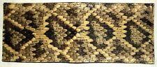 NEW Genuine Eastern Diamondback Rattlesnake Snake Skin Singlefold Bifold Wallet