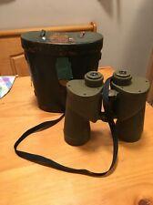 Vietnam War US Olive Drab M17A1 Reticle Binoculars in OD M24 case No Reserve