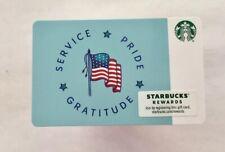 2019 Starbucks Gift Card. SERVICE, PRIDE, GRATITUDE. Mint. Worldwide shipping $1