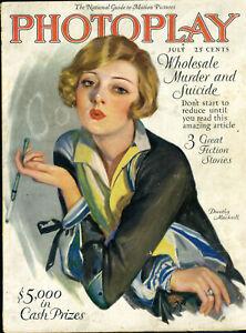 PHOTOPLAY • JULY 1926 • Dorothy Mackaill cover/ Van Buskirk • 1/2 pg METROPOLIS