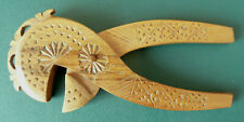 Vintage Hand carved Wooden Scandinavian Nut Cracker