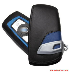 Leather Remote FOB Key Cover Keyless Bag fit for BMW 1 3 4 5 6 X1 X3 Series