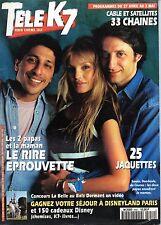 TELE K7 1996: ARIELLE DOMBASLE_ANTOINE DE CAUNES_MICKEY ROURKE_KURT RUSSELL