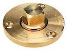 New Garboard Drain Plug Bronze Large Flange Sea Ray Boat SCP 18751