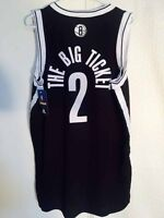 sale retailer 84aa6 09ed7 Adidas NBA Jersey Nets Kevin Garnett Black Nickname sz L   eBay