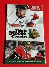 2011/12 QMJHL Halifax Moose Heads Pocket Schedule**Quebec Major Junior Hockey**