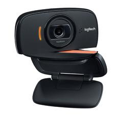 Logitech Foldable Business HD Webcam 360 Swivel Design, Autofocus, Stereo Mics