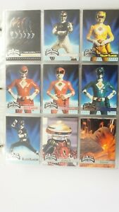 Power Rangers Movie 150 cards & 44 chase cards plus promo card 1995 Fleer.