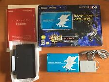 Nintendo 3DS LL Monster Hunter 4 Hunter Pack Limited Edition Japan Console F/S