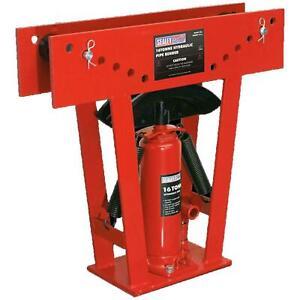 Sealey PBS99/14 16 Tonne Heavy Duty Hydraulic Pipe Bender Bends Upto 3 x 60°
