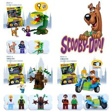 Scooby Doo Series The Mystery Machine Fred Shaggy Zombie Zeke building blocks