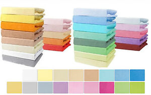 Terry Towelling Fitted Sheet Fits Cot 60x120 Cotbed 70x140 Changing Mat 70x50
