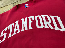 New listing Vintage Stanford Made in Usa Russell Athletic Sweatshirt in Cardinal Red (L) 90s