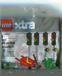 Lego Xtra 40311 Traffic Lights V46 46 pcs Poly Bag - NEW