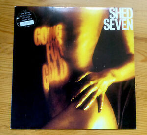 """SHED SEVEN - GOING FOR GOLD 7"""" YELLOW VINYL"""