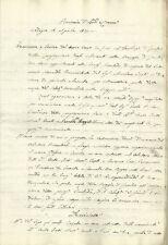 Codogno Perizia del Nuovo Cavo da Aprirsi in Territorio di Fombio 1821