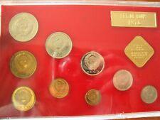 1976  RUSSIA USSR SOVIET UNION,  LENINGRAD MINT PROOF LIKE SET, 9 Coins+ 1 Medal