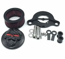 Zombie Black Air Cleaner Intake Filter For Harley Sportster XL883 XL1200 1988-20