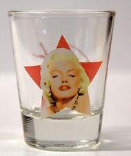 MARILYN MONROE SHOT GLASS ( pink star )