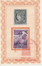 ARGENTINIEN 7.11.1950 Internationale Briefmarkenausstellung, Buenos Aires SST