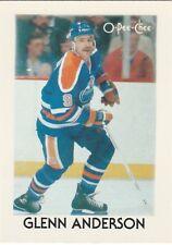 1987-88 O-Pee-Chee Mini Glenn Anderson
