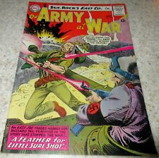 Our Army at War 145, (FN/VF 7.0) 1964 Kubert art! 40% off Guide!