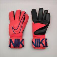 Nike GK Grip 3 Elite ACC Soccer Goalkeeper Gloves 10 Red Black GS3381-644