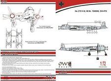 Owl 1/72 Heinkel He-219V-8 DH+PX Four Blades Propeller # S7244