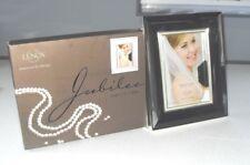 De Macys de Nueva York Lenox Jubileo Perla Grande Plateado Marco de foto de la boda