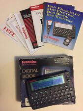 Vintage Dbs-2 Franklin Digital Book System 1993